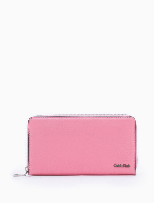 CALVIN KLEIN WORKMAN ZIP AROUND WALLET