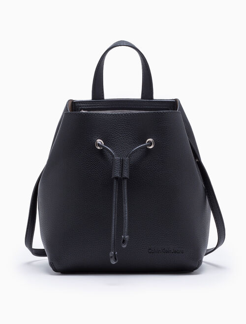 CALVIN KLEIN ULTRA LIGHT DRAWSTRING CROSSBODY BAG