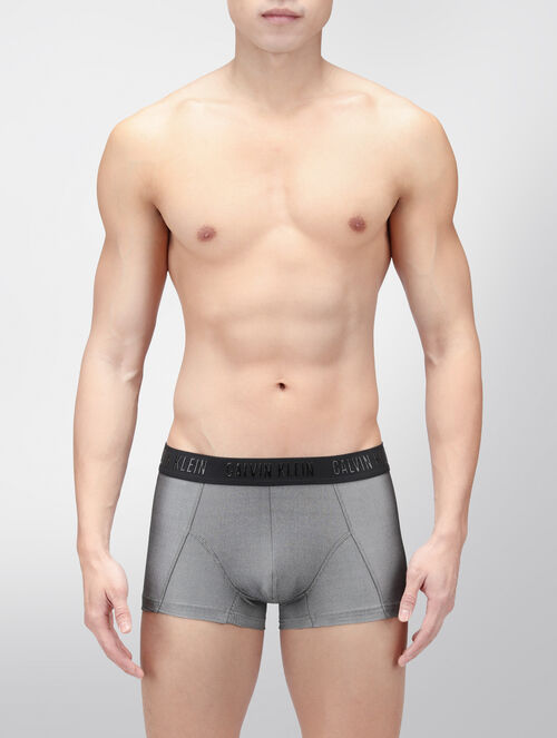 CALVIN KLEIN CK BLK MICRO VELOCITY LOW RISE TRUNK