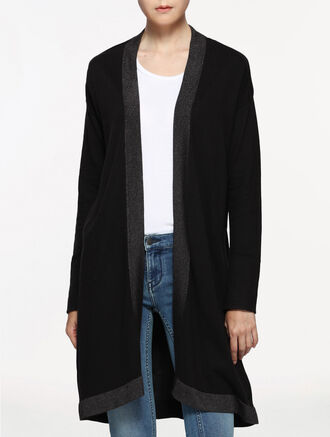 CALVIN KLEIN LONG CARDIGAN LONG SLEEVES