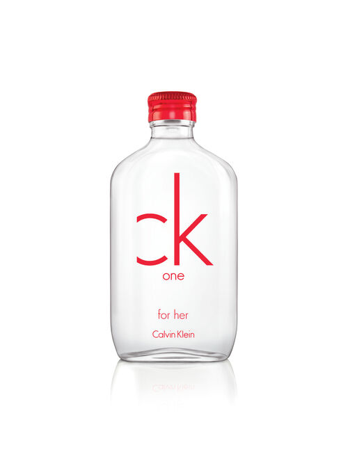 CALVIN KLEIN CK ONE RED FOR HER EAU DE TOILETTE SPRAY 100ML