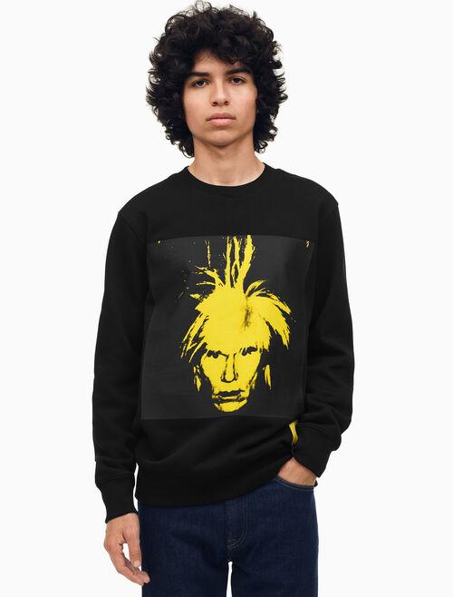 CALVIN KLEIN Warhol Portrait 圓領運動上衣(一般版型)