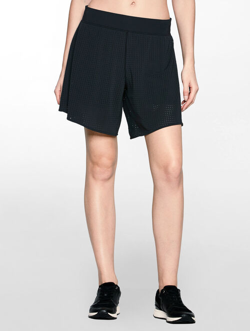 CALVIN KLEIN PERFORATED CULOTTE