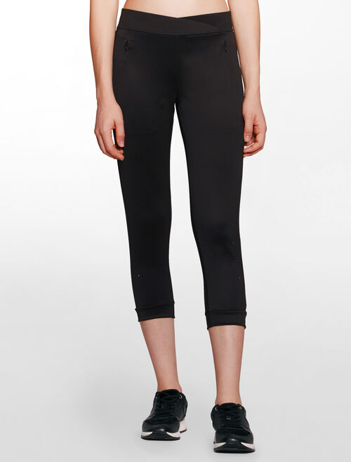 CALVIN KLEIN BONDING CROP PANTS