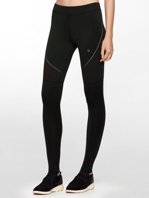 CALVIN KLEIN REGULAR RISE LEGGING WITH LOGO WAISTBAND