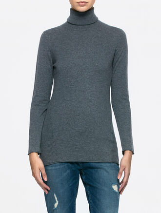 CALVIN KLEIN SABINE TURTLE LONG SLEEVES