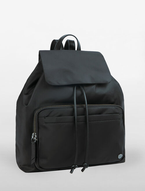 CALVIN KLEIN EXPOSED METRO DRAWSTRING BACKPACK