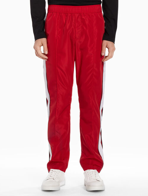 CALVIN KLEIN Woven pants with piping
