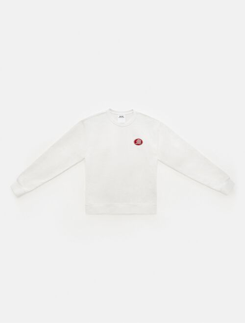 CALVIN KLEIN EST 1978 EMBROIDERED CREWNECK SWEATSHIRT