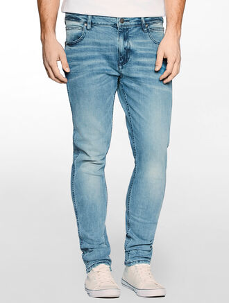 CALVIN KLEIN SCULPTED SEAWAVE TAPER JEANS