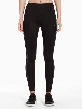 CALVIN KLEIN REFLECTIVE STRIPE LEGGINGS