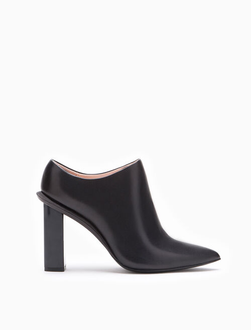 CALVIN KLEIN CARLO LEATHER BOOTIE