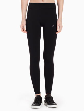 CALVIN KLEIN SEAMLESS ANKLE LENGTH LEGGINGS