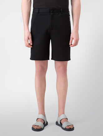 CALVIN KLEIN SCULPTED DOUBLE FACE JERSEY WITH SOFT MESH SHORTS