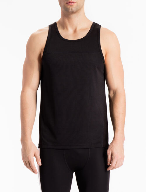 CALVIN KLEIN TANK TOP WITH BONDED SEAMS