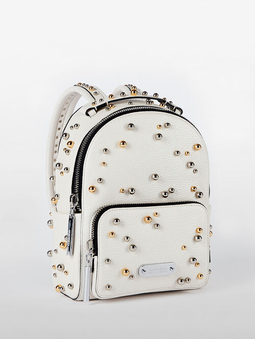 CALVIN KLEIN ENGINEERED CASUAL MICRO BACKPACK WITH STUDS