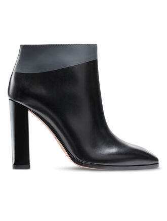 CALVIN KLEIN BRUSHED CALF ANKLE BOOT