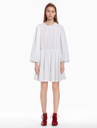 CALVIN KLEIN Puff sleeve dress