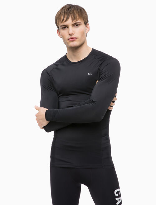 CALVIN KLEIN COMPRESSION LONG SLEEVE TEE