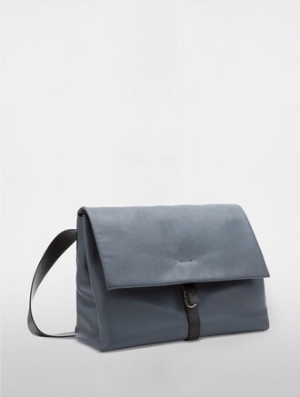 CALVIN KLEIN SLATED MESSENGER BAG