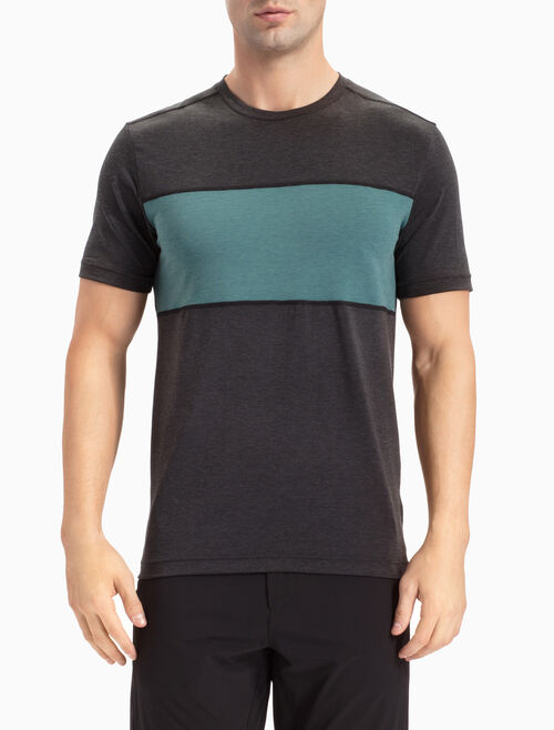CALVIN KLEIN BOLD BLOCK TEE WITH SHORT SLEEVES