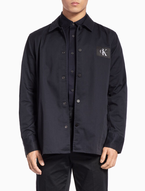 CALVIN KLEIN LONG-SLEEVE SHIRT JACKET