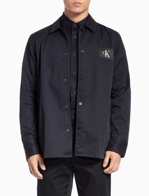 CALVIN KLEIN ロングスリーブシャツジャケット