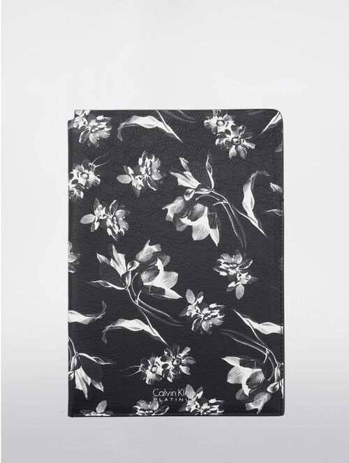 CALVIN KLEIN FLORAL EXPOSURE PRINT  TECH ITEM SLEEVE