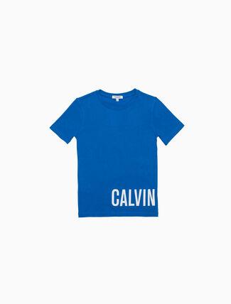CALVIN KLEIN BOYS LOGO SHORT SLEEVE TEE