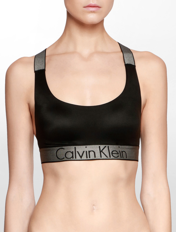 Calvin Klein Customized Stretch Bralette Pas Cher De La France Vente Vraiment WXaqXMARPa