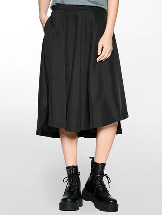 CALVIN KLEIN HIGH-LOW SKIRT