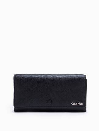 CALVIN KLEIN WORKMAN LONG FOLD WALLET