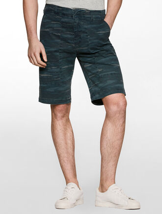 CALVIN KLEIN CUT PANEL SHORTS