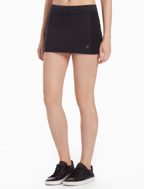 CALVIN KLEIN MESH LAYER SKIRT