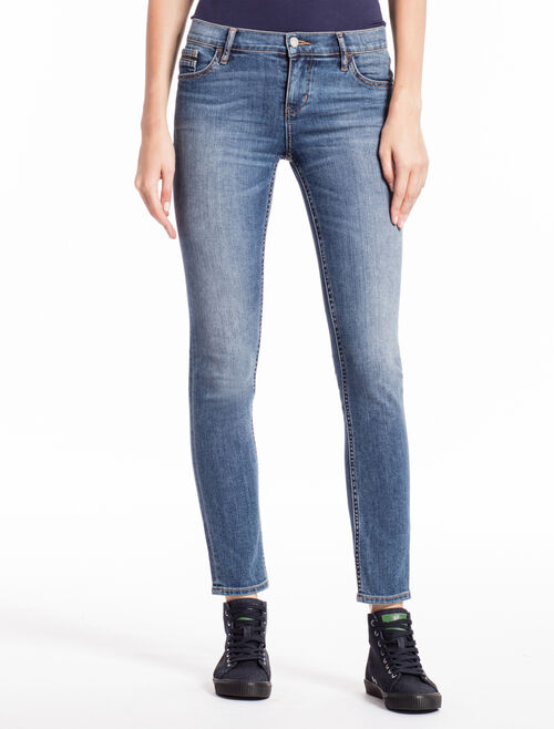 CALVIN KLEIN AIRY MID STRAIGHT SKINNY JEANS