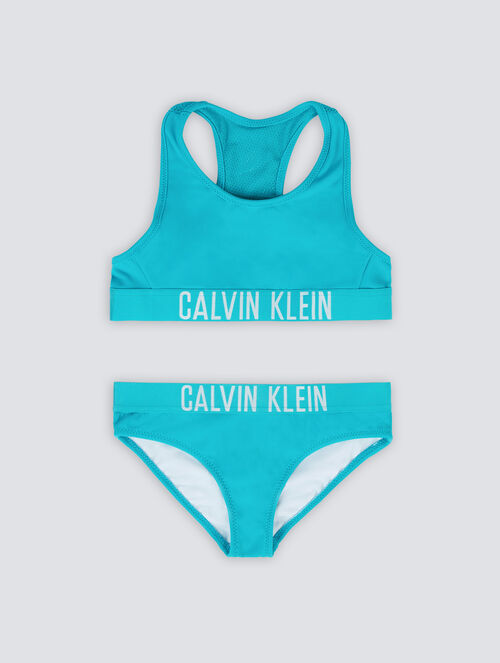 CALVIN KLEIN INTENSE POWER BRALETTE BIKINI SET