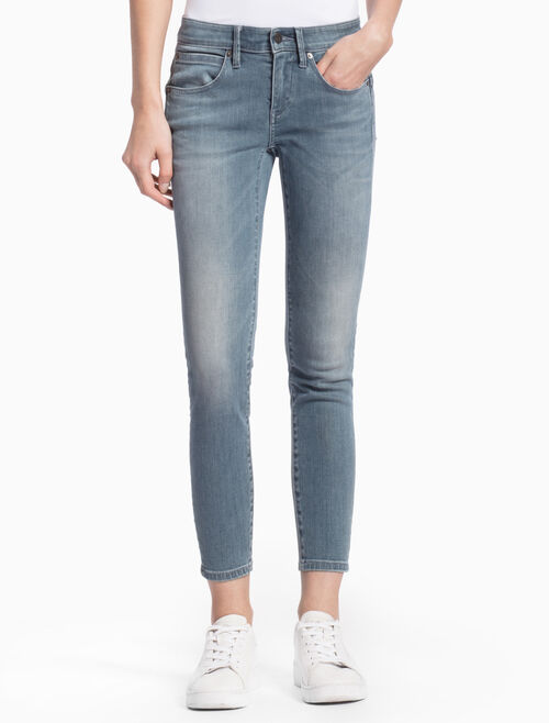 CALVIN KLEIN ELLIS BLUE GREY BODY JEANS