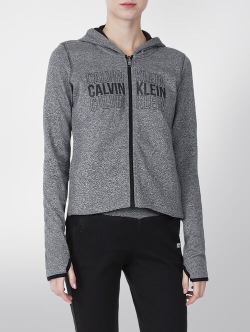 CALVIN KLEIN TWO TONE REVERISIBLE HOODED JACKET