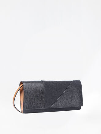 CALVIN KLEIN LONG FOLD WALLET WITH DETACHABLE STRAP