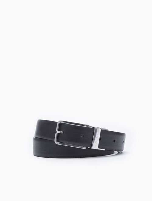 CALVIN KLEIN METAL KEEPER BUCKLE BELT