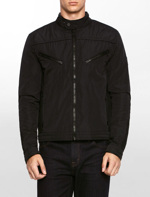 CALVIN KLEIN ORKEN MIX MEDIA MOTO JACKET
