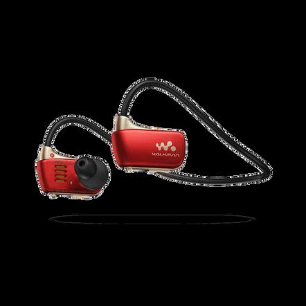 W Series Waterproof MP3 4GB Walkman (Red)