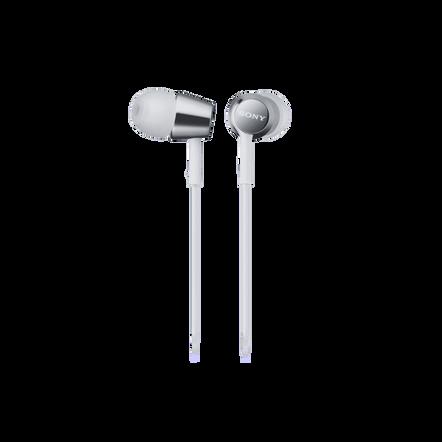 EX150AP In-Ear Headphones (White)