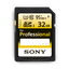 Professional SD 32GB Memory Card