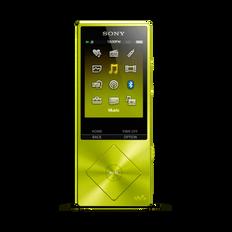 A Series High-Resolution Audio 16GB Walkman (Yellow)