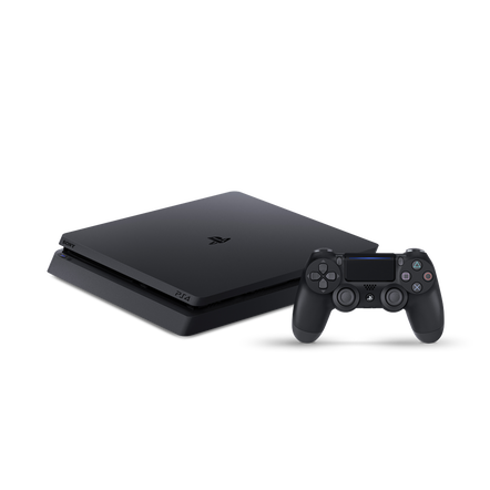 PlayStation4 Slim 500GB Console (Black)