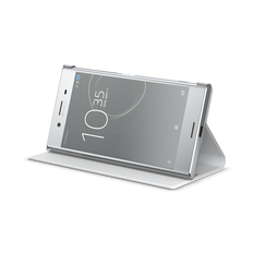 Style Cover Stand SCSG10B for Xperia XZ Premium (Grey)