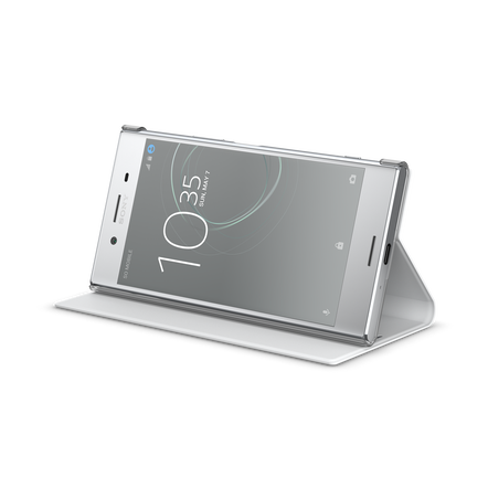 Style Cover Stand SCSG10G for Xperia XZ Premium (White)