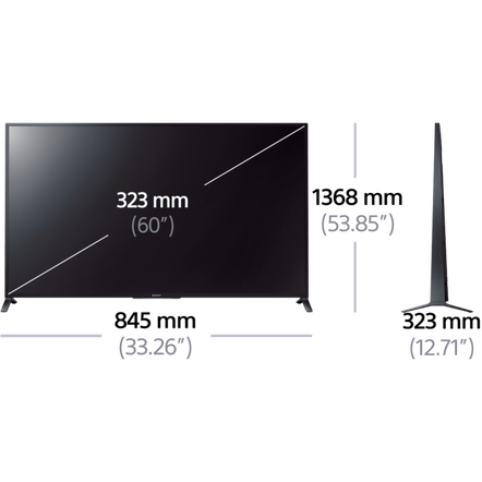 "60"" W850B Full HD & LED LCD TV"