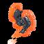 AS200 Splash-proof In-Ear Headphones (Orange)